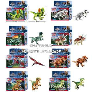 For Sale Jurassic World Dinos 8in1 Minifigures