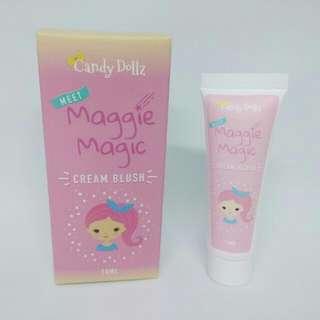 Maggie cream blush (with box)