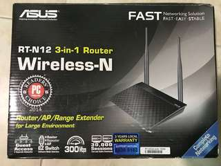 ASUS 3-in-1  Router