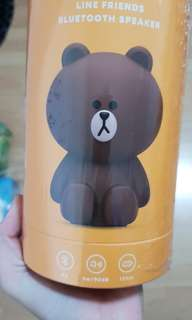 Authentic Line Friends bluetooth speaker brown edition