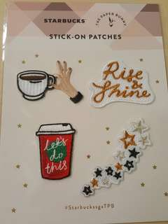 BN Starbucks Paper Bunny Stick-on Patch