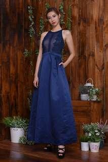 Blue Carpet Gown