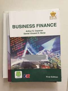 Business Finance Senior High Textbook Grade 11/12