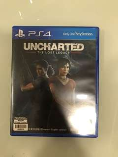 Ps4 uncharted the lost regacy