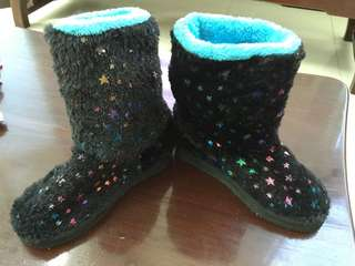 Star Studded Winter Boots