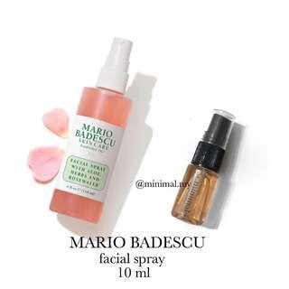 MARIO BADESCU rose facial spray (trial)