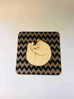 貓mouse pad