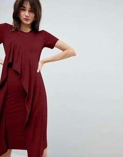 🐊Ruffles front dress