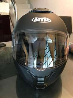 Selling brand new German flip up helmet