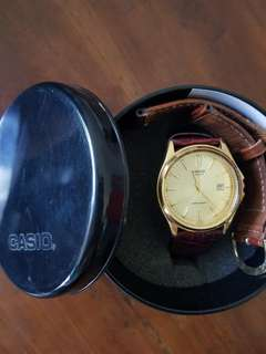 Casio gold men watch