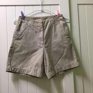 🚚 Giordano 卡其色休閒短褲