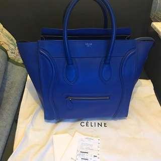 100% Real 85% New Celine Mini Luggage