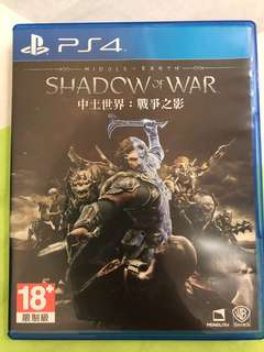 Middle-Earth: Shadow of War (R3) PS4