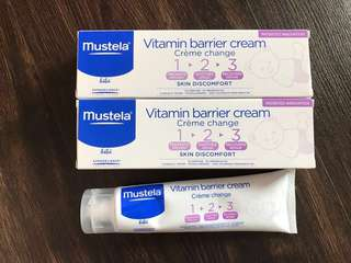 🚚 Mustela Barrier Cream (Twin Pack)