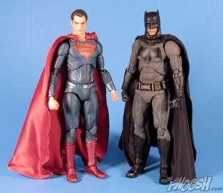 Mafex BVS Batman Superman Wonder Woman Set