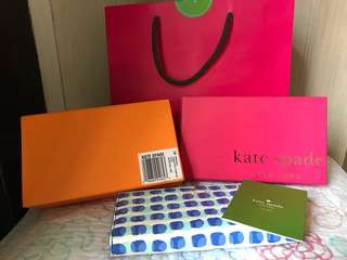 Kate Spade Cedar Street Stamp Dot Stacy Wallet