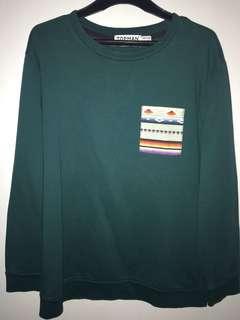 TOPMAN Aztec Sweatshirt/ Sweater