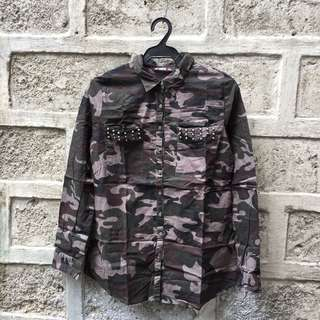 Lee Cooper Military Shirt