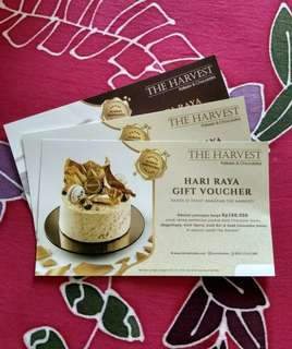 VOUCHER POTONGAN 100RIBU KUE THE HARVEST