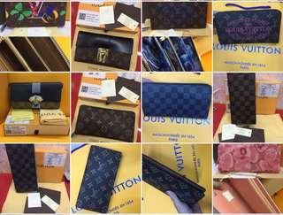 Choose any two LV Wallet for 1500