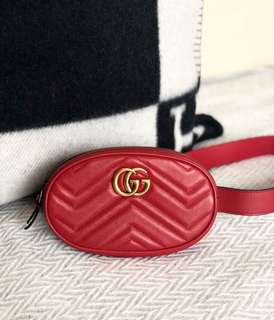 Gucci Belt Bag 85cm in RED