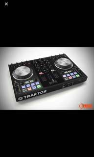 Traktor s2 mk2 with power supply and iPad cable