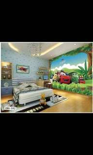 3D LARGE DECORATIVE PICTURE WALL STICKER