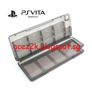 [BN] PSV PS Vita 10-in-1 Cartridge & Memory Card Holder (Brand New)