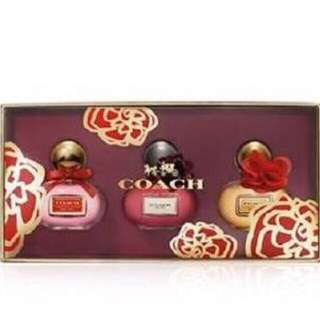 Authentic Coach Poppy Blossom 3-Piece Mini Coffret Gift Set