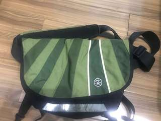 Crumpler Messenger Bag The Barney Rustle Blanket