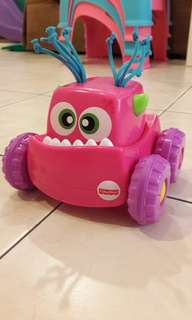 12m+ Fisher Price Monster Push Car