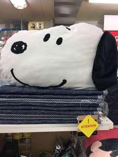 🚚 大頭史努比靠墊枕頭抱枕