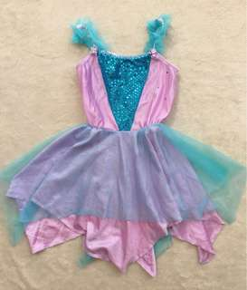 Teal and Lavender Party Dress for toddlers (2-3yo)
