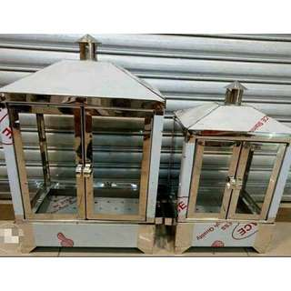 Stainless Steamer House for Siopao and Siomai (Electric Type)