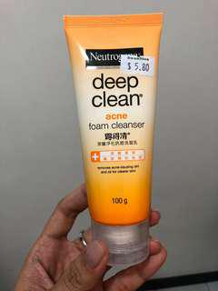 #LASTHOLIDAYSALE Neutrogena Deep Clean Acne Foam Cleanser