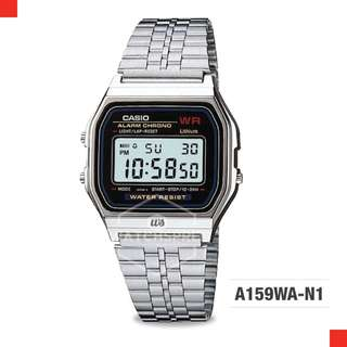 FREE DELIVERY *CASIO GENUINE* [A159WA-N1] 100% Authentic with 1 Year Warranty! A159WA-N1DF