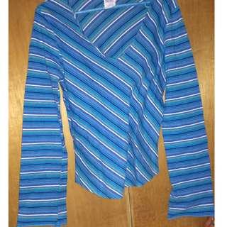 Blue Stripe Long Sleeve