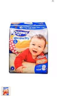 Dryper diaper