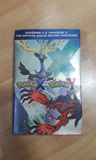 Pokémon X Y Guidebook
