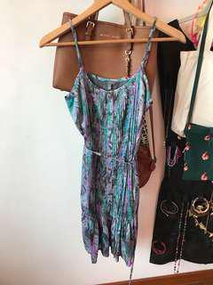 🚚 FOREVER21 Brush paint Bohemian Dress