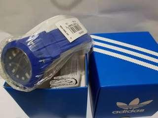 Jam Tangan Adidas Analog Biru Original