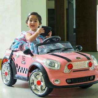 Baby Electronic Remote Control Car Baby Pink same as scarlet snow