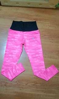 Pink long tights