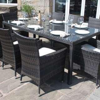8 seater outdoor dining set