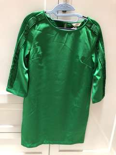 Dress hijau glam