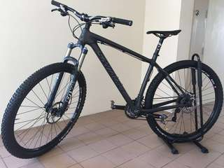 Santa Cruz highball C 29er Carbon frame open to trade with Brompton with TOP up on my side of your value is higher