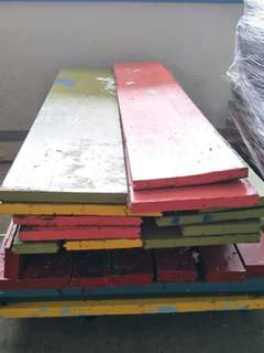Industrial /Heavy duty / Solid wood for sale @$200 (1 lot)