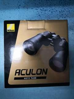 Nikon ACULON A211 7X50 binculars