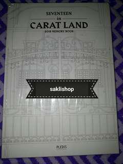 SEVENTEEN CARAT LAND 2018 MEMORY BOOK