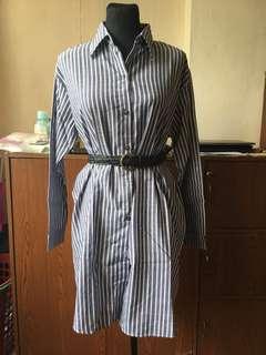 Buttondown Shirt Dress